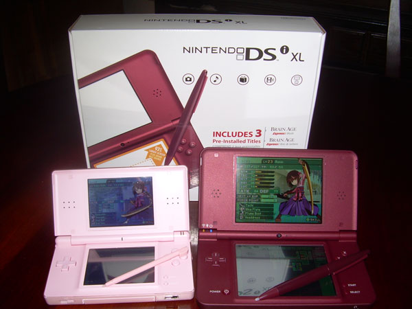 DS Lite vs. DSi XL