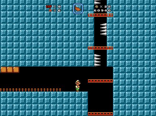 Broken-ass elevator.