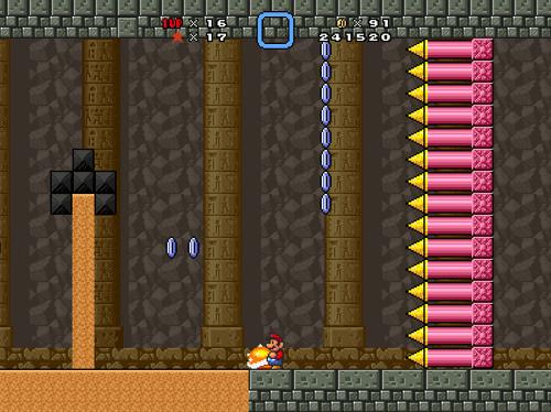 Broken-ass spike wall.