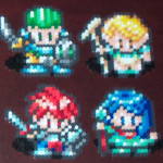 Heroes from Lufia and the Fortress of Doom