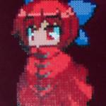 Red Touhou Girl