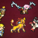 Sazh, Lightning, Shantotto, Red XIII and Tifa (Final Fantasy: All the Bravest)