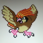 HOOTS, everyone's favorite Pidgeot (Pokémon Red/Blue)